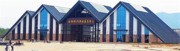 益阳市嘉年华游客中心 建筑面积:4763平方米