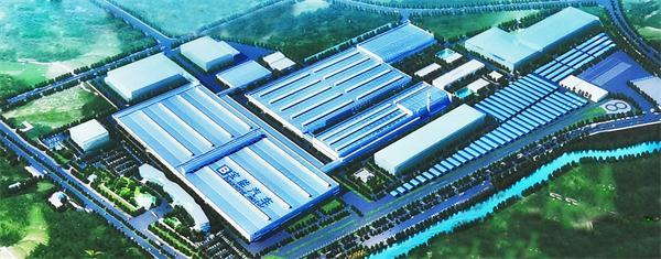 广州宝能新能源汽车产业园零部件组装车间 建筑面积:12万平方